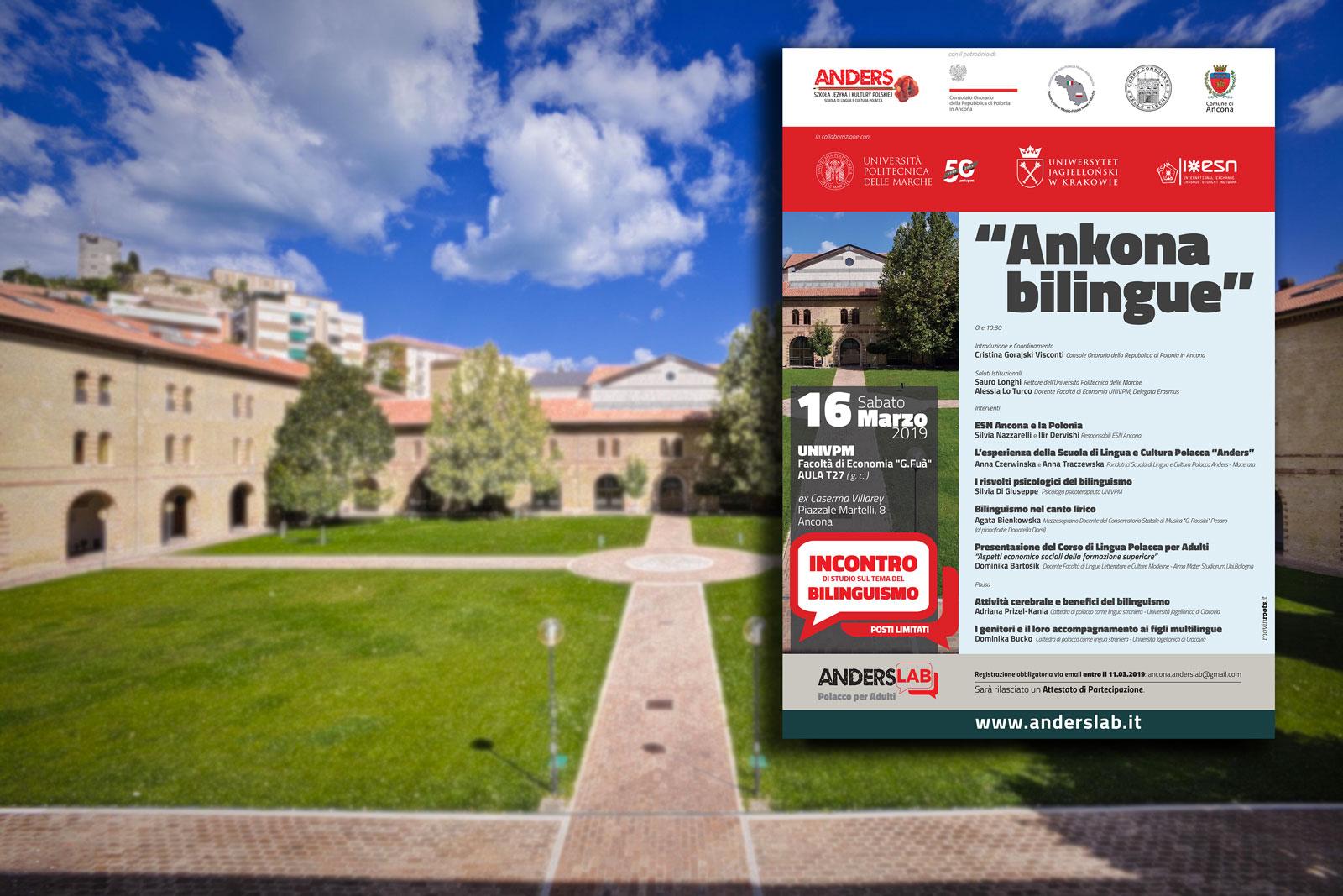 ANKONA BILINGUE incontro sul bilinguismo Ancona UNIVPM